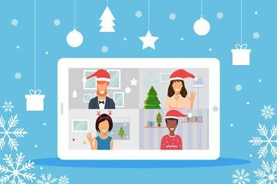 Snow days, virtual opera: The office holiday party goes on