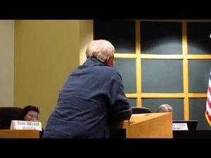 Jim Hathaway speaks to Sun Prairie City Council 12-5-2017