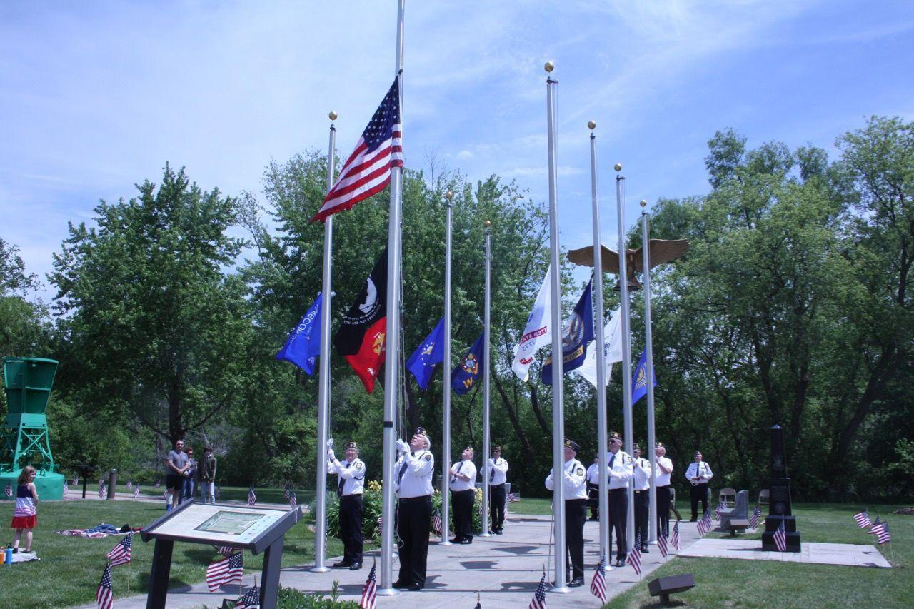 DeForest Memorial Day Ceremony 2021 (2 of 11)
