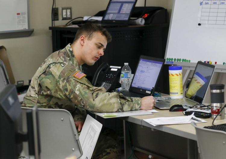 Wisconsin National Guard service members support their own communities