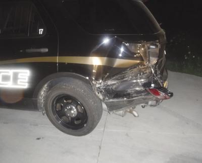 City sues drunk driver in police car crash