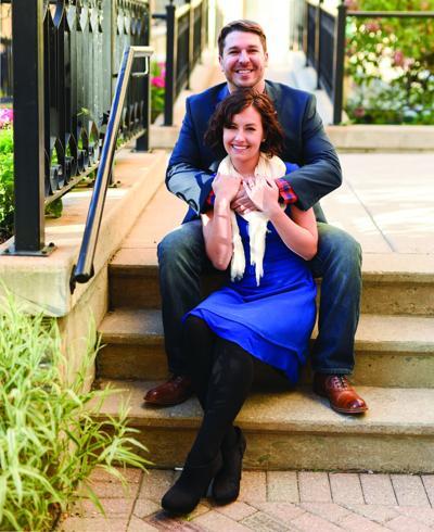 Katlyn Ross and Adam Garcia