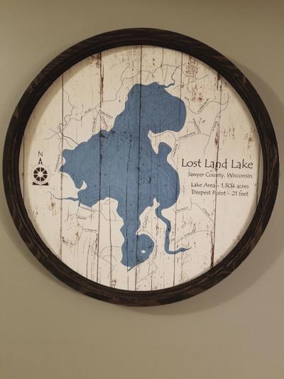 Lost Land Lake map