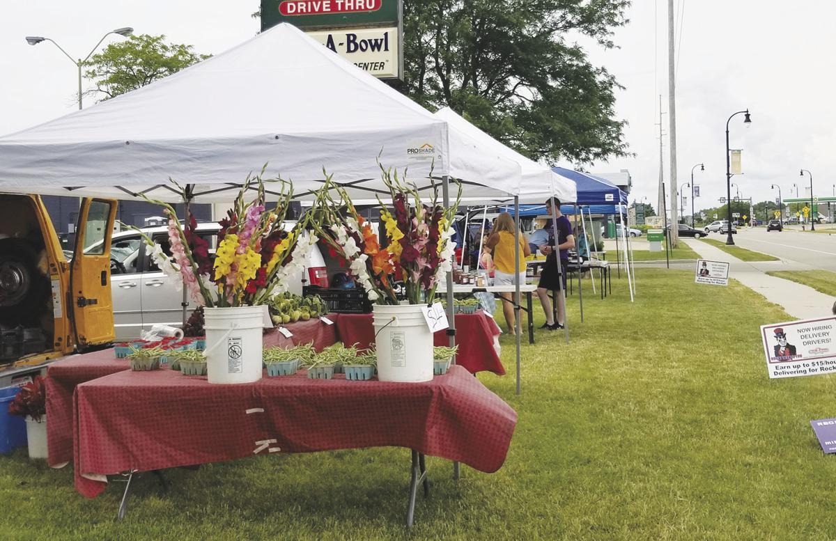 Farmers Market in bloom