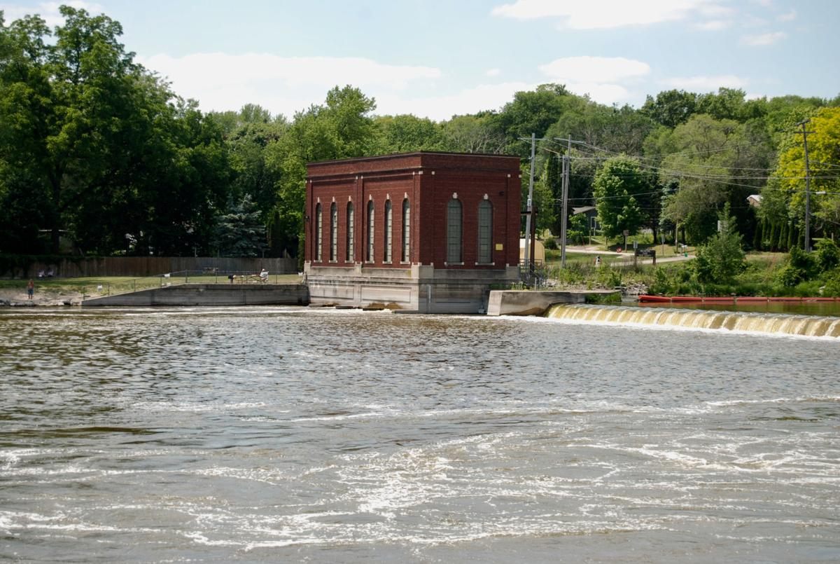 A view of the dam