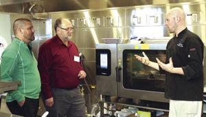 Test kitchen demonstration