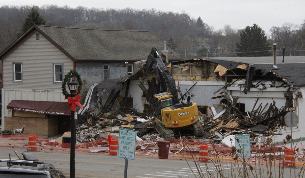 Dance studio demolition