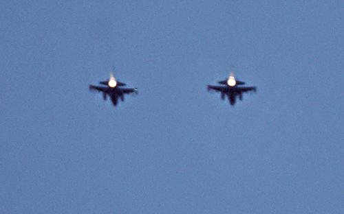 Fly over by F16's is 'Boom' highlight
