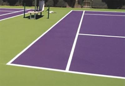 Tennis courts at Ripp Park