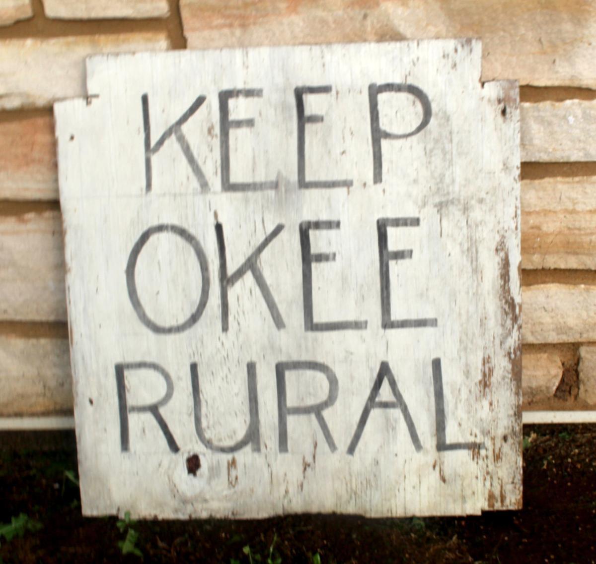 """""""Keep Okee Rural"""""""