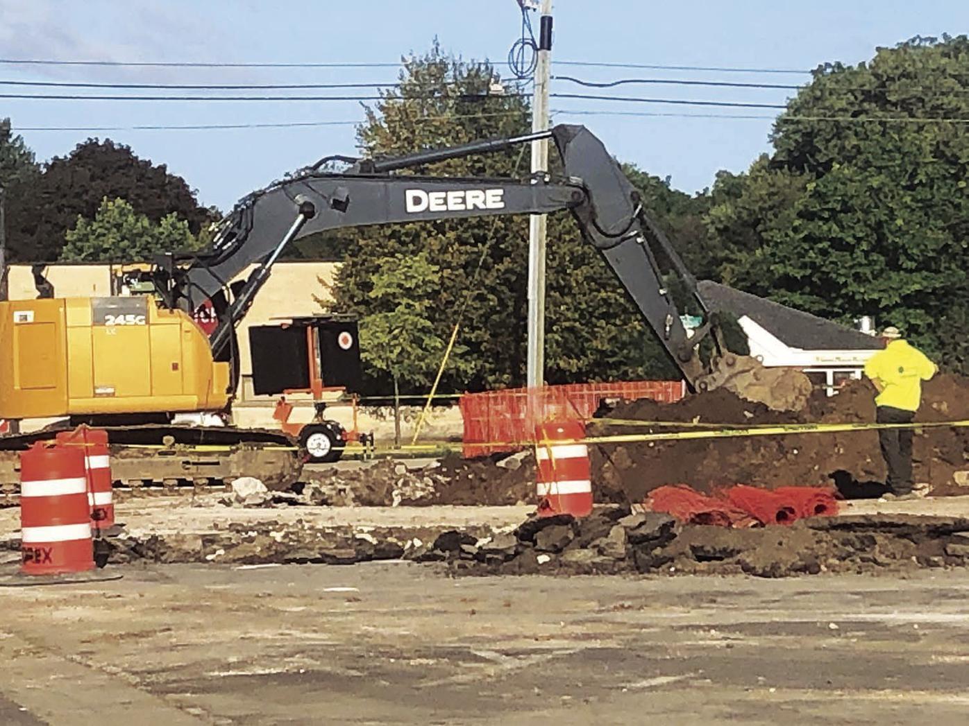 Parking lot construction (2020)