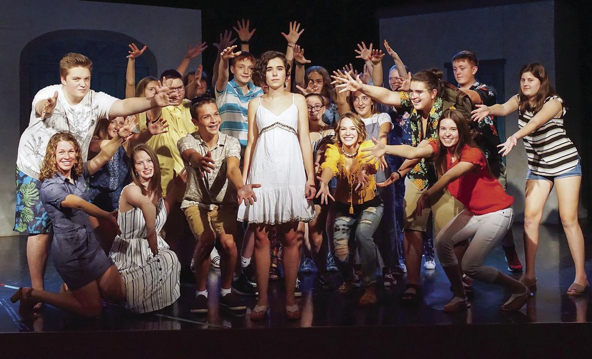 'Mamma Mia' cast