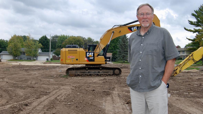 Work begins at future 'Gathering Green' space