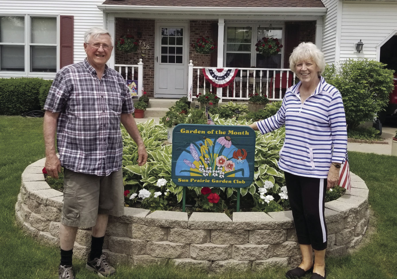 Sun Prairie Garden of the Month-June 2021