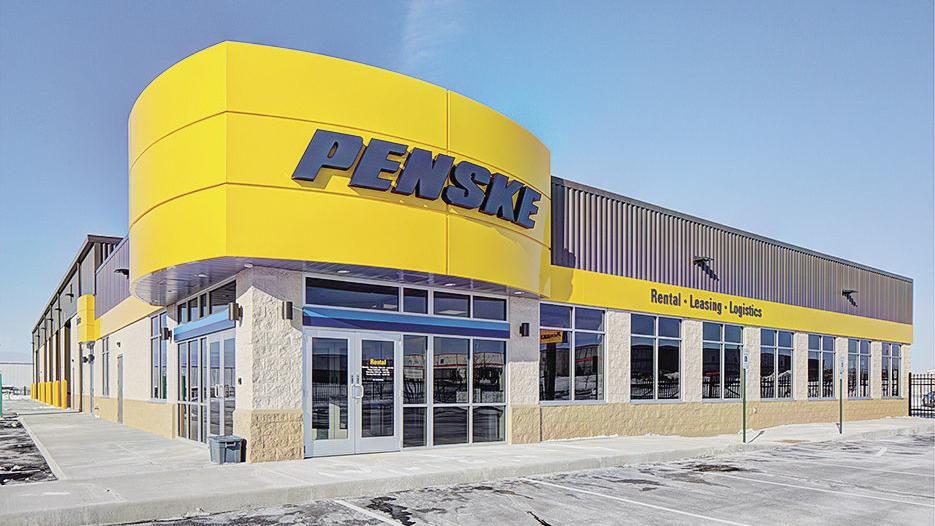 Penske Truck Leasing Builds Facility In Deforest Business Hngnews Com