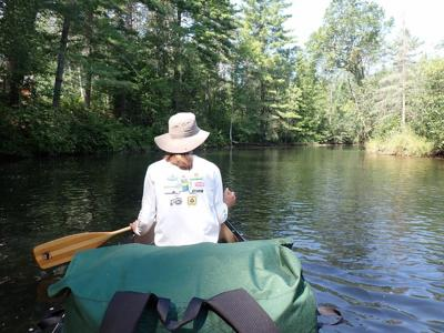 Canoeing on Namekagon River