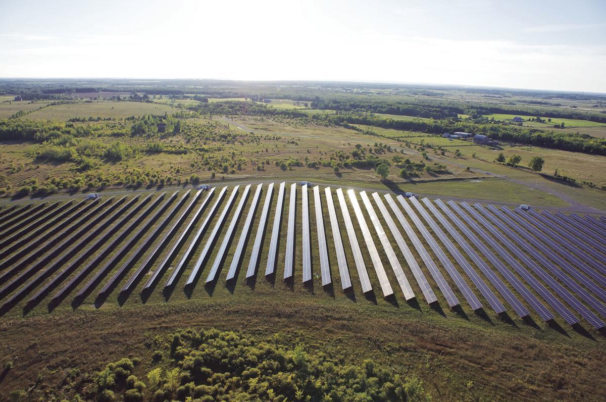 Sandringham solar site