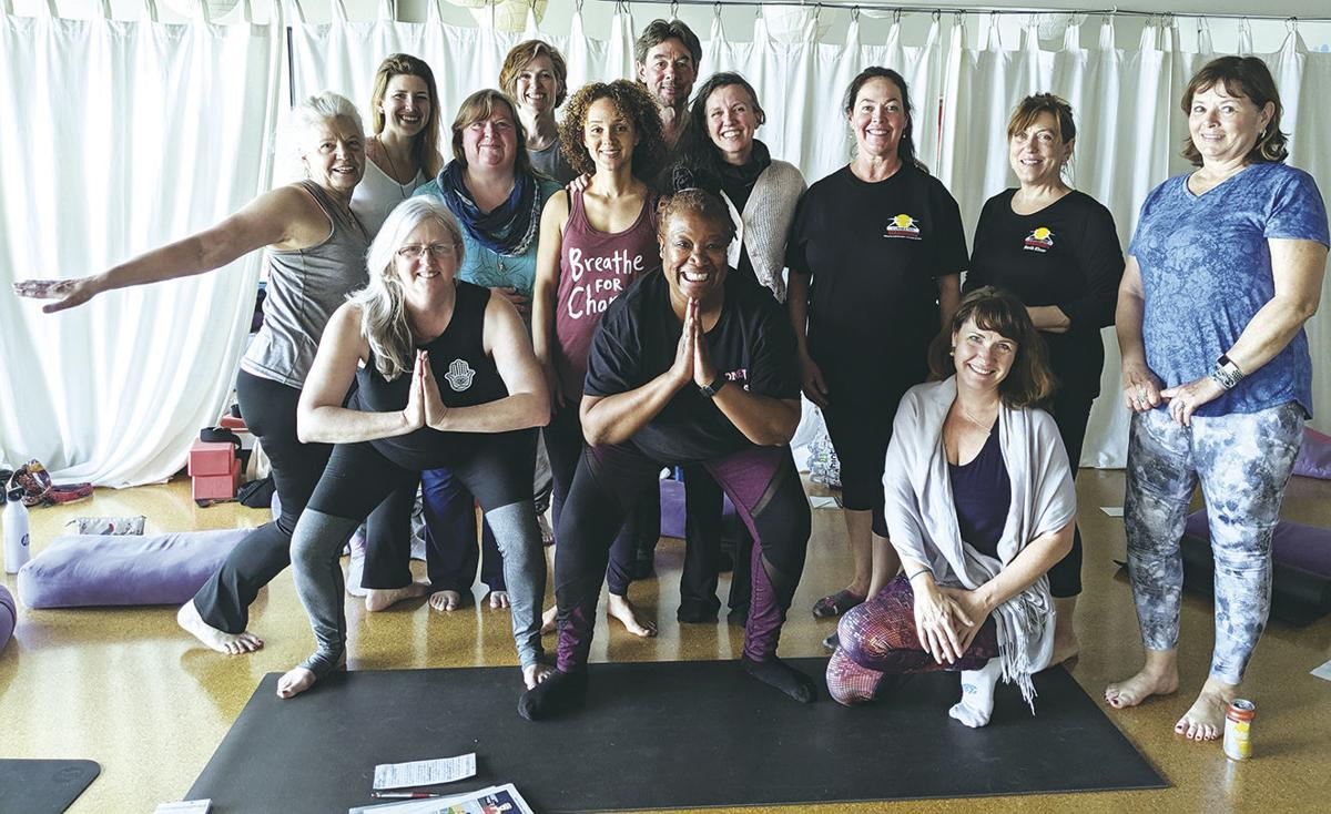 Yoga for vets, families