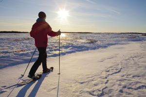 Snowshoe hike