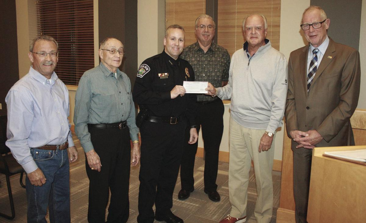 Improvement Council donates $207,000 to SPPD for K-9s
