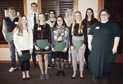 Landmark Services Cooperative Scholarship recipients (2020)