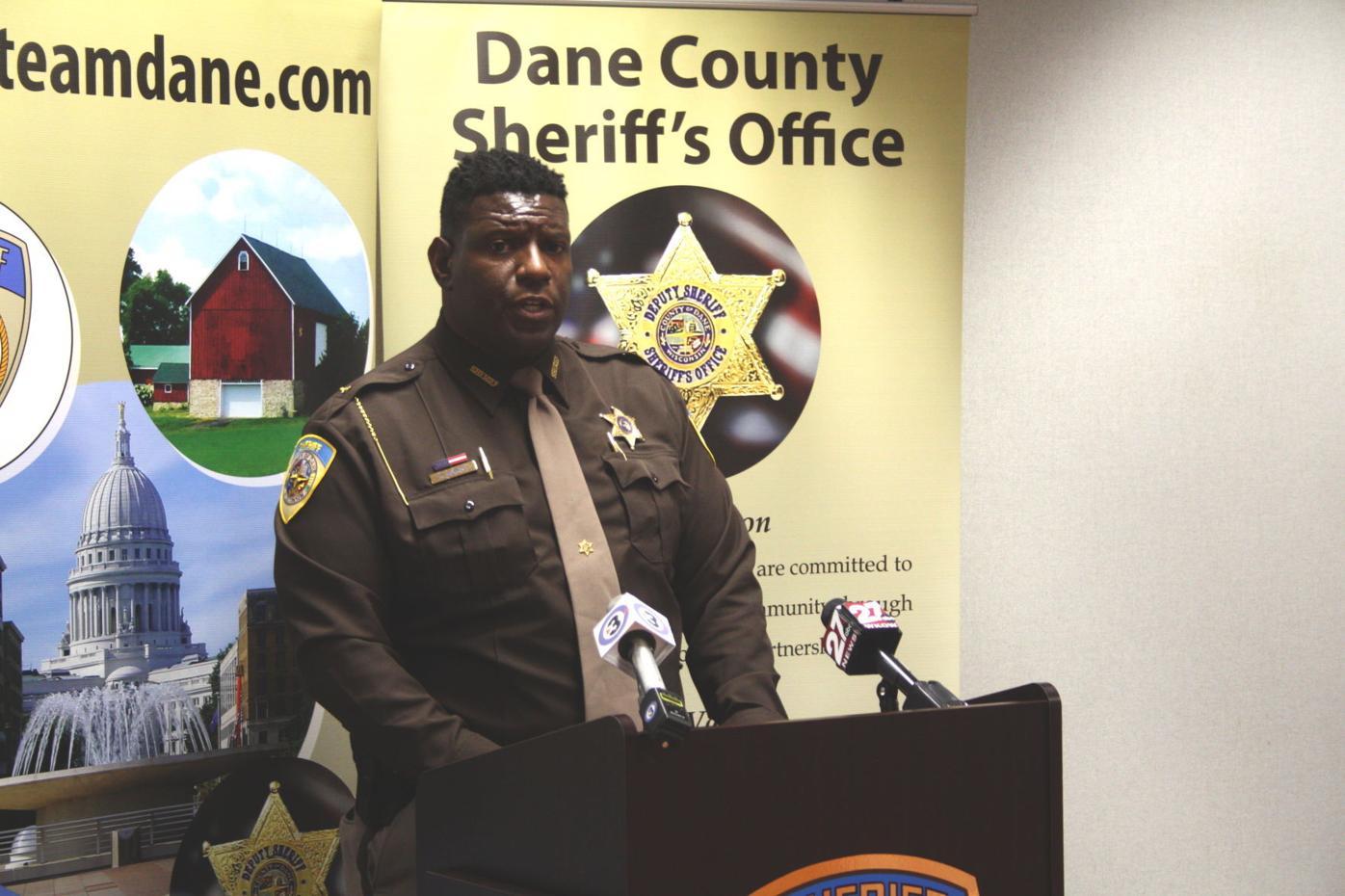 Dane County Sheriff Kalvin Barrett