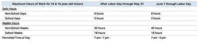 Child Labor Hours (2020)