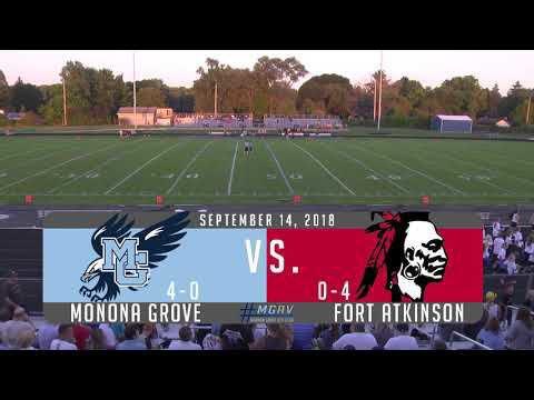 Monona Grove Football vs Fort Atkinson 9/14/18