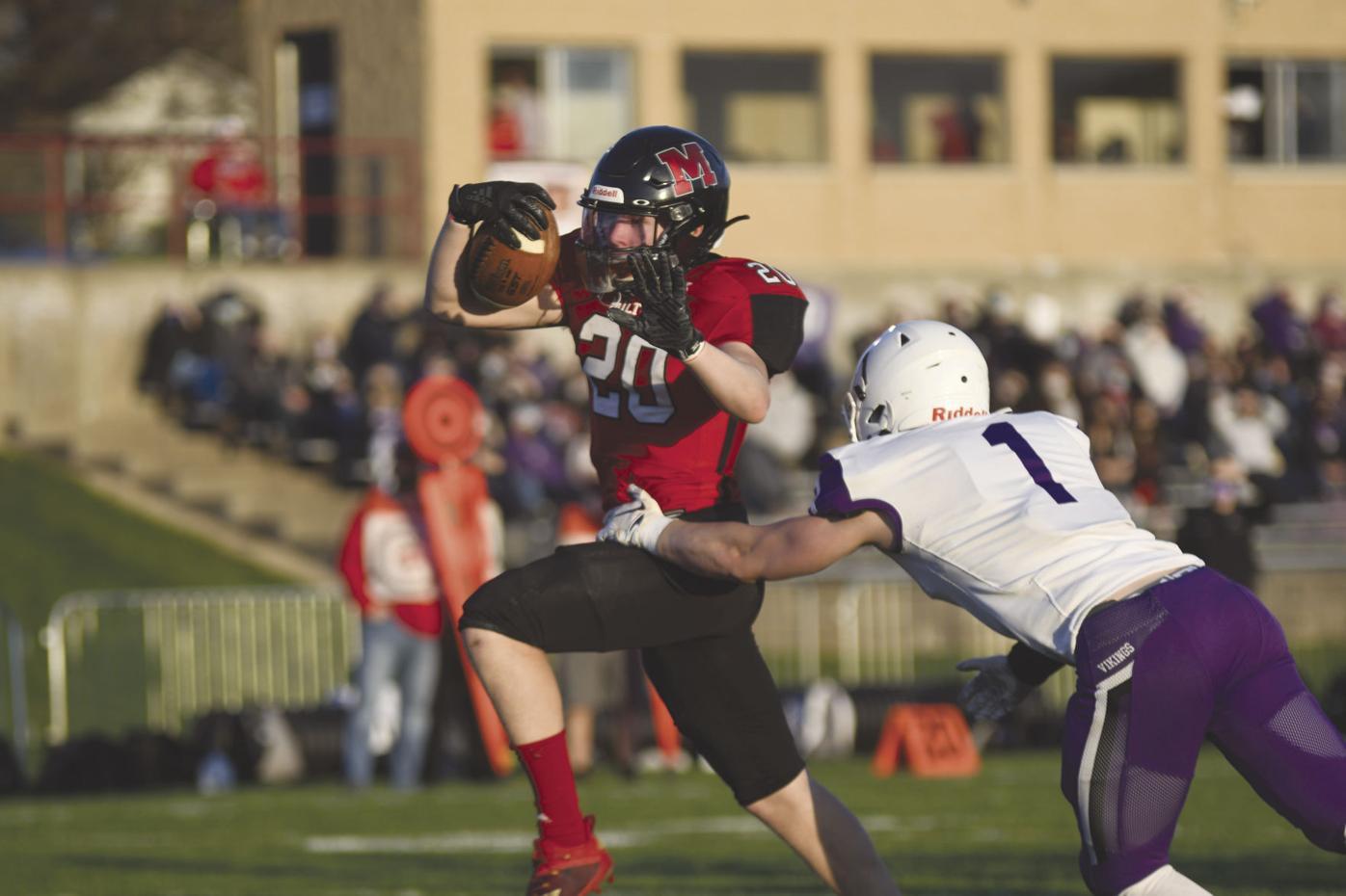 Kyle Dehnert stoughton football