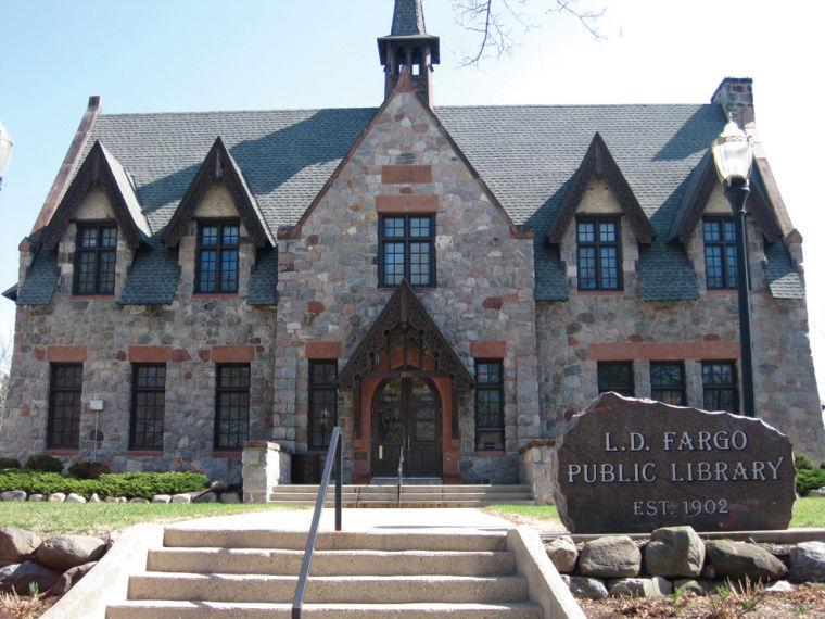 The LD Fargo Public Library In Its Current Form Has Undergone Some Major Changes Since A Fire Tore Through Most Of Winter