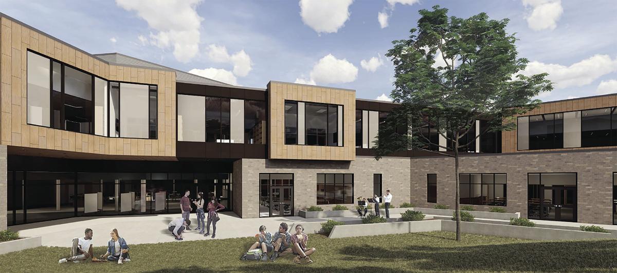 Sun Prairie West High School Courtyard (2020)