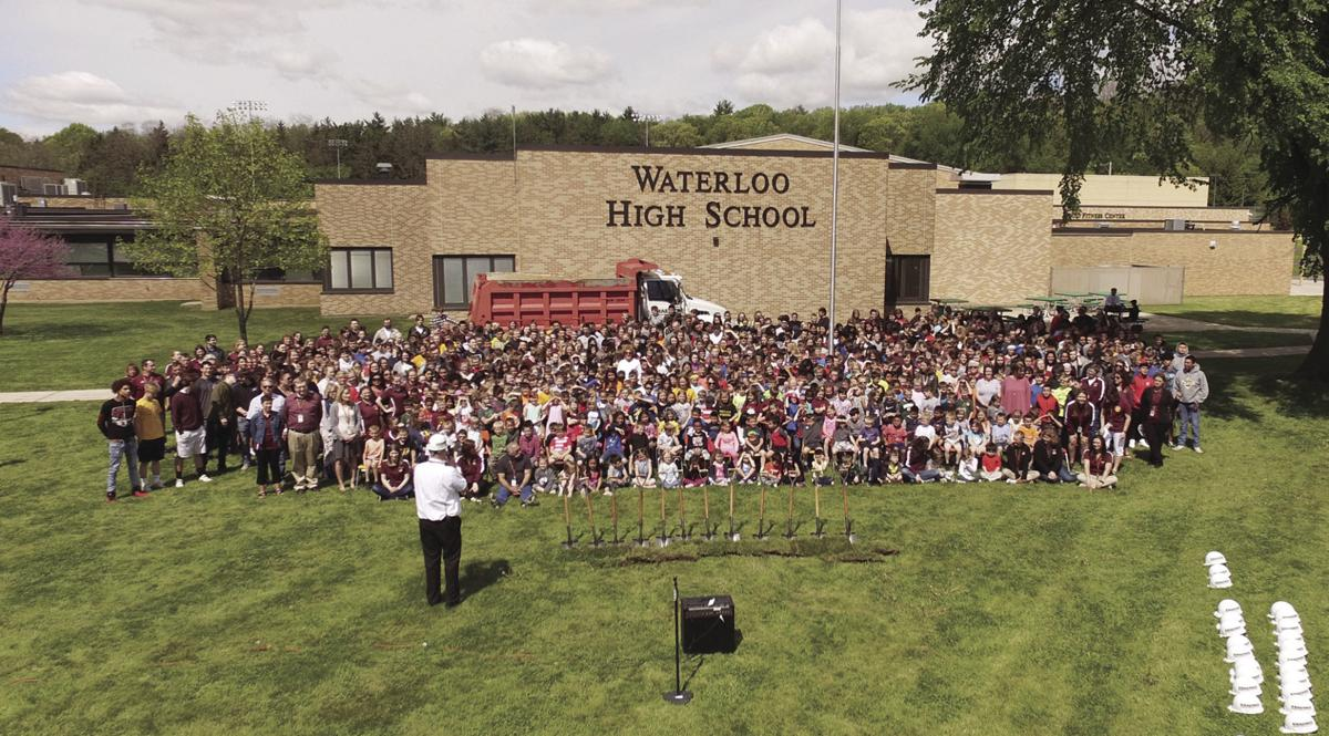 Groundbreaking held for Waterloo school projects (copy)