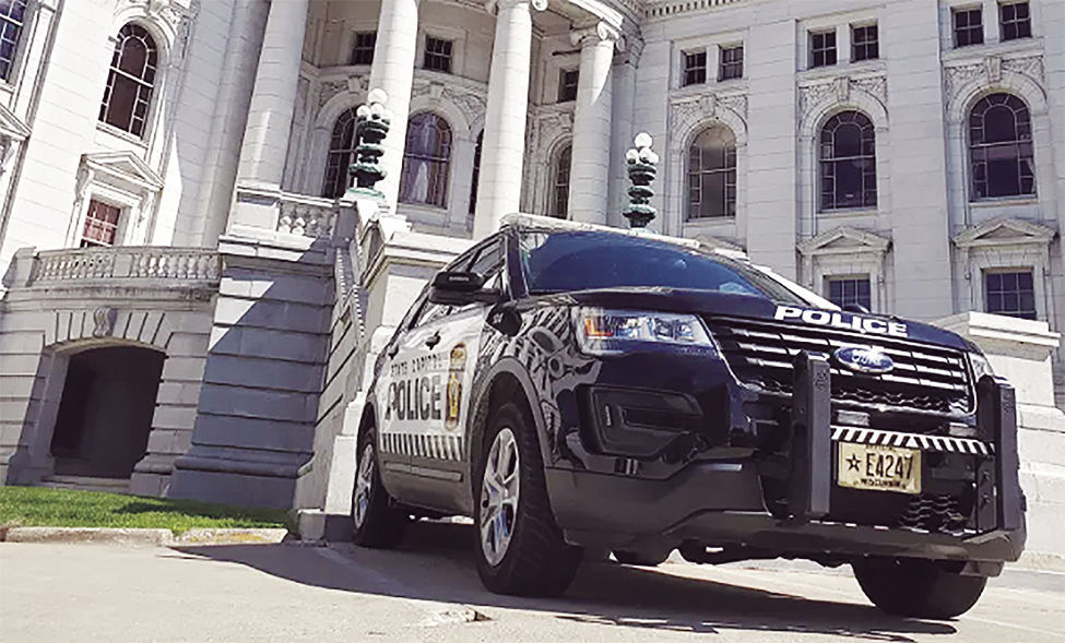 State Capitol Police Cruiser