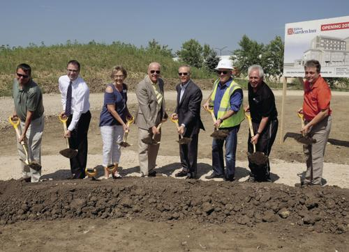 Ground broken for Sun Prairie's new Hilton Garden Inn