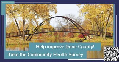 Healthy Dane Community Survey with QR Code