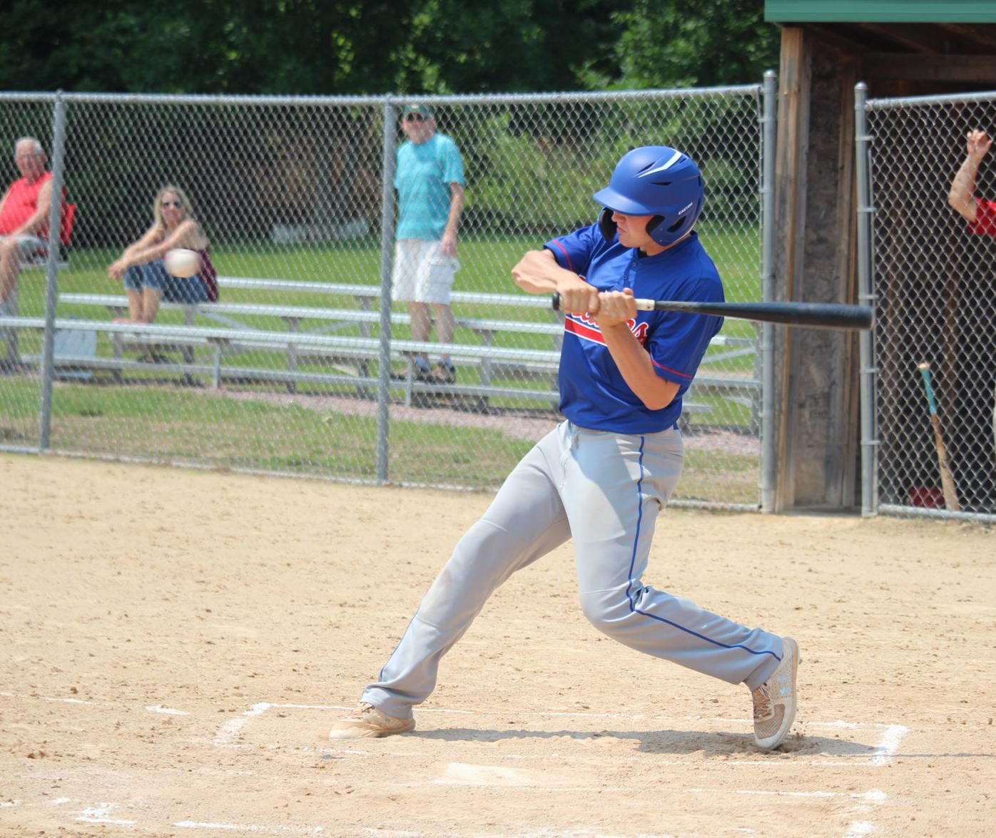 Tough at the plate