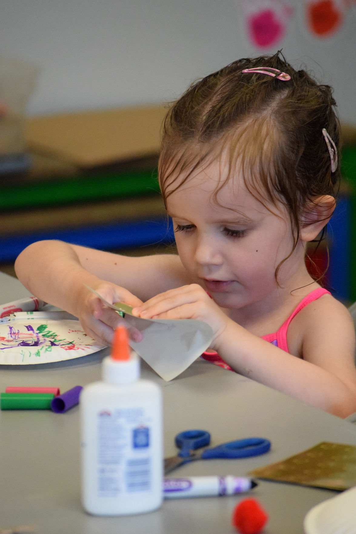 Deerfield Library Craft Day 2