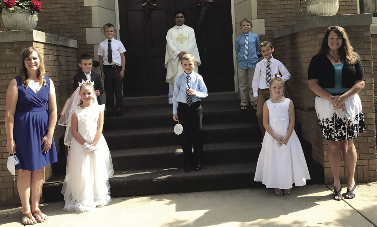 First Communion celebrated June 28