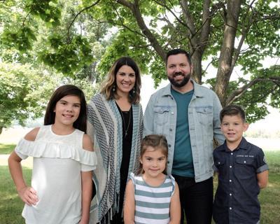 Pastor Matt McMorris and his family
