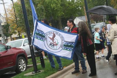 Flag is raised