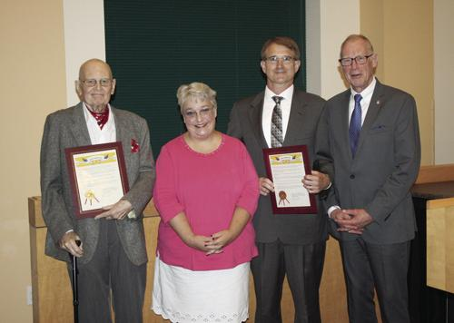 Reininger, Ashley award winners announced (with video)