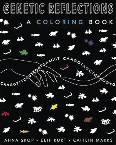 Coloring book inspires young science artists