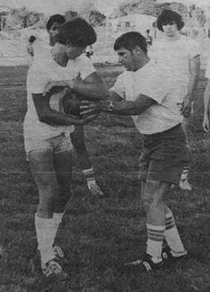 Dave Halverson and Bill Rice