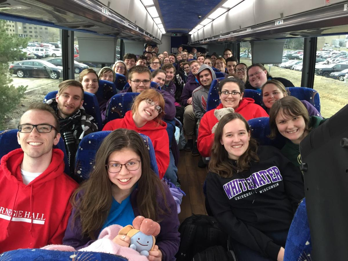 UW-Whitewater students head home from Carnegie