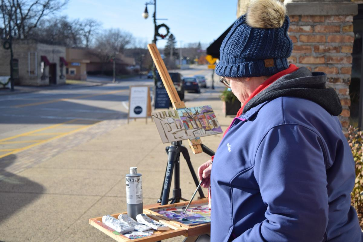 In the open air: Painters create in the elements