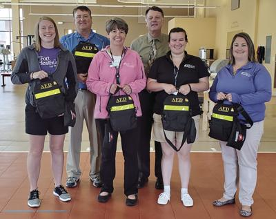 Fort HealthCare's trainers add AEDs to area sports events