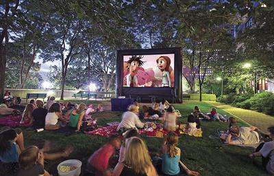 Outdoor movie