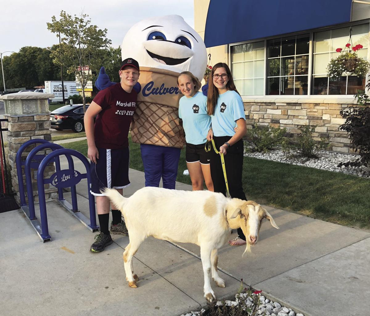Marshall FFA Culvers night