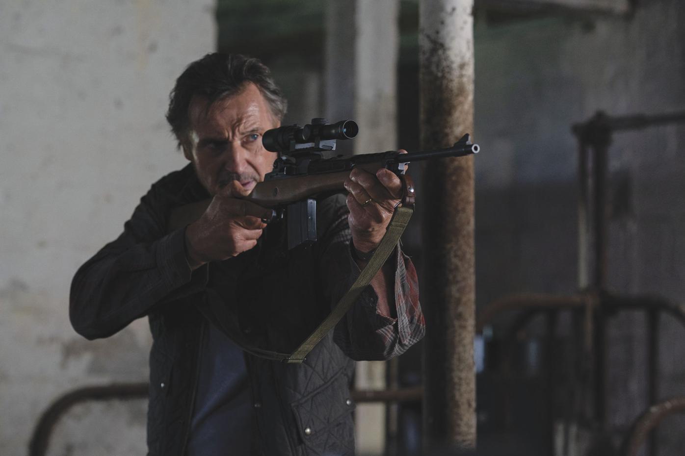 Liam Neeson is The Marksman (2021)