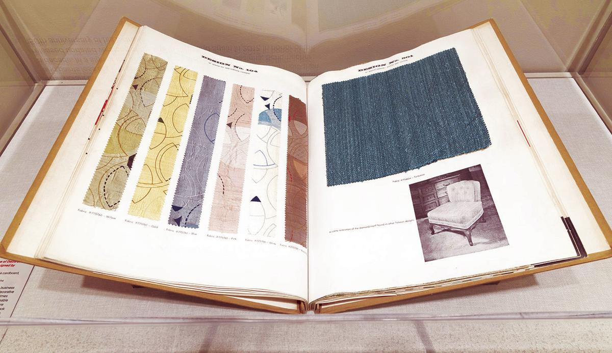 Homes Design Wright Textiles Exhibit Piece